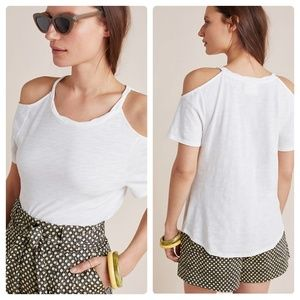 Anthropologie Turner Open-Shoulder Top